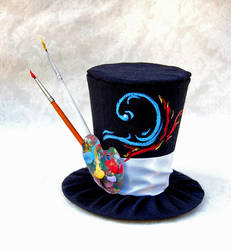 Tiny Top Hat: The Artist by TinyTopHats