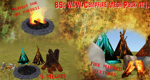 BS WoW Campfire mesh pack nr1. by BurnSightFH