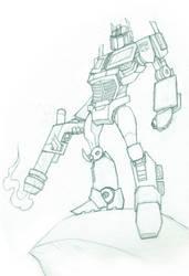 Optimus Prime by ENERGY29