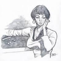 Uhura from Star Trek by jeffzombie37