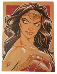 Wonder Woman by jeffzombie37
