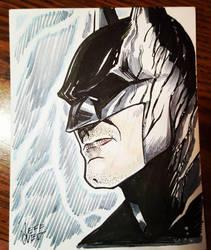 Batman by jeffzombie37