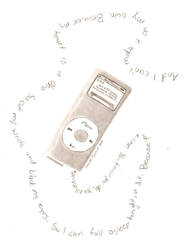 iPod by skullmage550