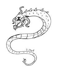 Winding Serpent by SILENT-INKER