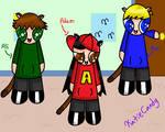 The Puffruff kids dress up! by KatieCandy