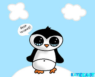 Cute Penguin! by KatieCandy