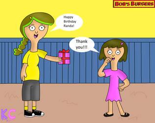 Happy late Birthday Randa! by KatieCandy