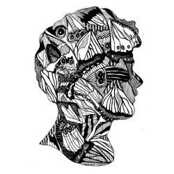 Butterfly Cameo by daniellekenyon