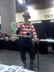Steampunk Waldo by RavynCrescent