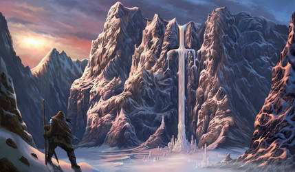 Sword of Ice by midscrawl