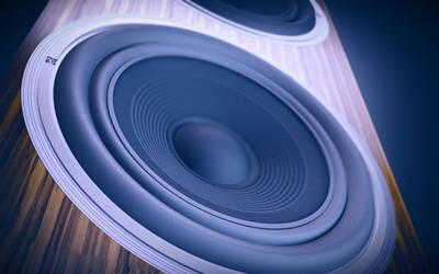 3D Speaker Wallpaper by alexandergeorgieff