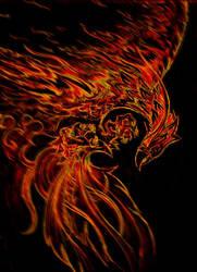 Phoenix by slinkyonion