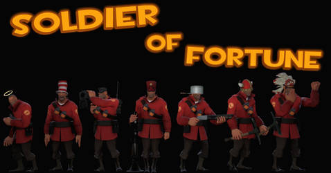 Soldier Of Fortune by MrComrade