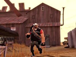 Cowboy by MrComrade