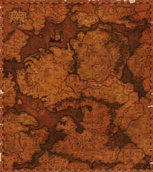 Fantasymap of Caeruin by Quabbe