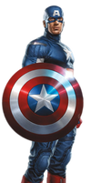 Captain America PNG by CaptainJackHarkness