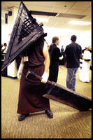 Pyramid Head by Saturdaysx