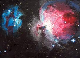 Orion Nebula M43 by Delta26