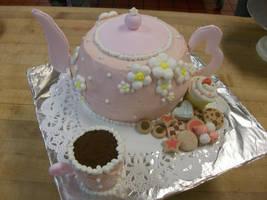 Teapot Cake by Saiyuki08