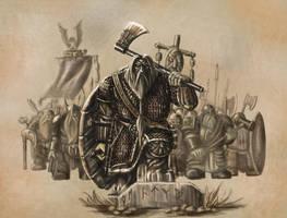 warhammer dwarves oathstone by Tygodym