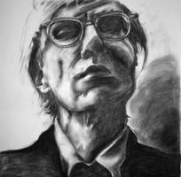 Portrait of Andy Warhol by mcaballer4