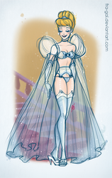 Disney Boudoir: Cinderella II by fra-gai