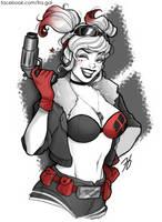DC Bombshells: Harley Quinn by fra-gai