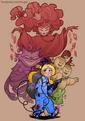 Alice in Ghostland by fra-gai