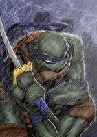 Leo TMNT by ElecoMoroco