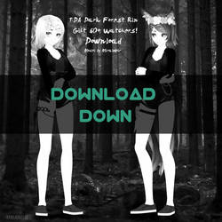 [MMD|60+watchers gift] TDA D.F. Rin [DL DOWN] by MiraiNoir