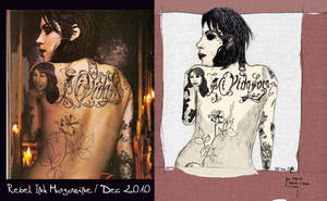 kat von d, back -colour- by assignation