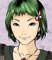 kawaii girl colour by assignation