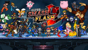 Super Smash Flash 2 Wallpaper #2 by RaytheFox2012