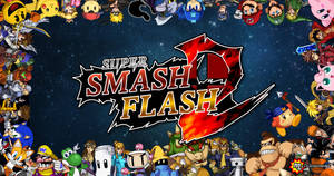 Super Smash Flash 2 Beta Wallpaper #1 by RaytheFox2012