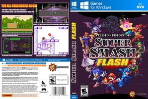 Super Smash Flash Box Art by RaytheFox2012