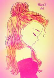 Sad Princess {2nd Version} (Miwa'Z Art) by ShirouArt