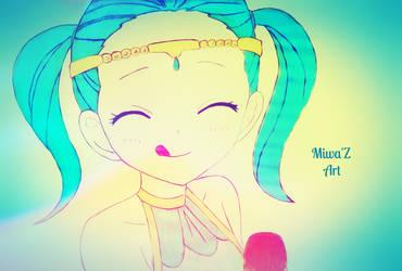 Aquarius (Miwa'Z Art) by ShirouArt