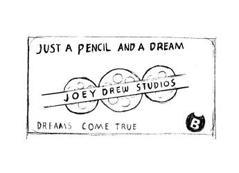 Joey Drew Business card by T-b0