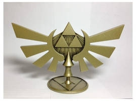 LOZ Hyrule Crest Statuette by Enlightenup23