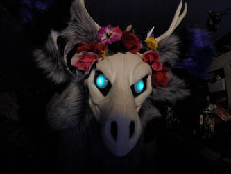 Demon of the Flowers by kitsune-yoei