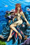 Milotic Ocean Queen by wintersnexus
