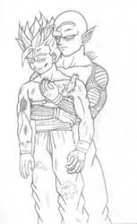 I'll always protect you by VirusMetalGarurumon