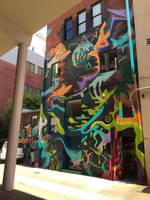Psychedelic Wall Mural by Rejuv1n8edChr0nic9l