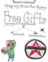 Free Art Gifts by Rejuv1n8edChr0nic9l