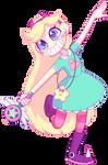 starrrrrrrrrr butterflyyyyyyy by Kunmao