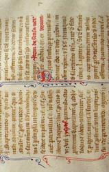 13th Century Manuscript 01 by barefootliam-stock