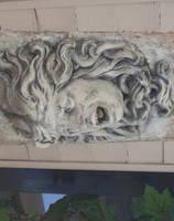 Stone medusa 01 by barefootliam-stock