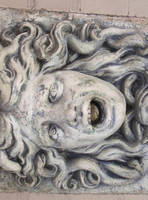 Stone medusa 02 by barefootliam-stock