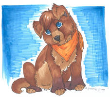 Little Puppy.. by PoonieFox