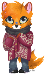 Little Winter Poonie by PoonieFox